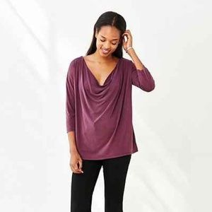 Urban Outfitters Silence+Noise cowl neck blouse