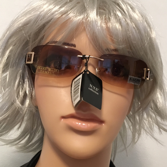 8e73be0aa0 NEW Hand made Temple Brown Ombre Sunglasses