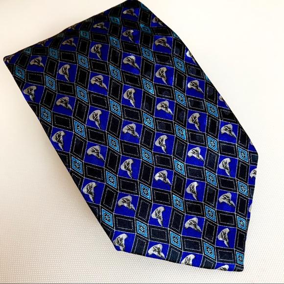 bc34178d Ermenegildo Zegna Silk Calla Lily Geometric Tie