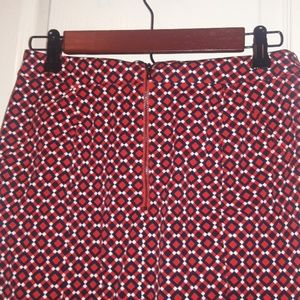 Ann Taylor Skirts - Ann Taylor Red, White, & Blue Design Skirt