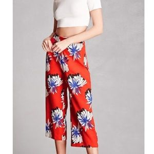 Pixie & Diamond Abstract Culottes
