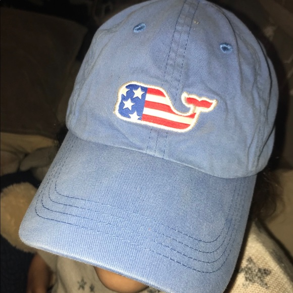 36db3376264 Vineyard Vines American Flag Whale Hat