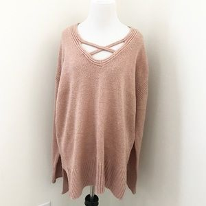 Sweaters - Mauve sweater
