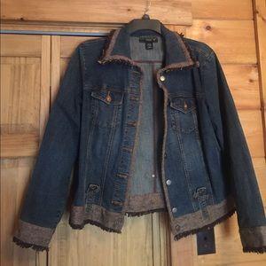 Taste of Vintage Jean Jacket fits size 14 to 16