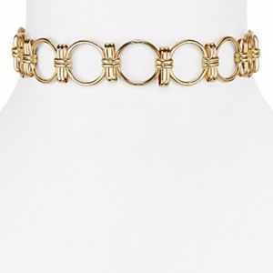 AQUA Jocelyn Link Choker Necklace