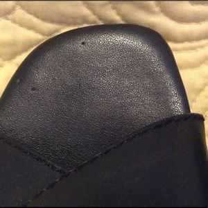 Rockport Shoes - Women's Rockport Leather Slide Sandal Size 6 1/2 M