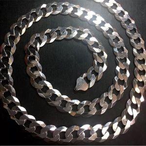 Jewelry - Big Anti tarnish  Silver Italian Chain Necklace