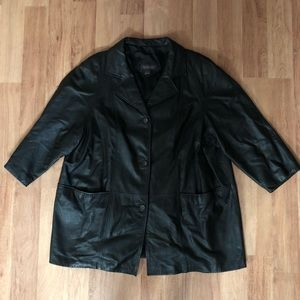 Jackets & Blazers - Vintage Genuine Leather Women's Coat