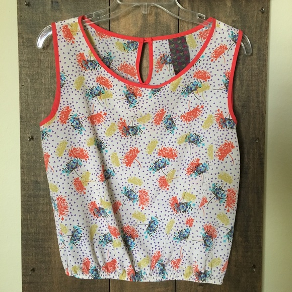 Wallpapher Tops - Cute Colorful Top
