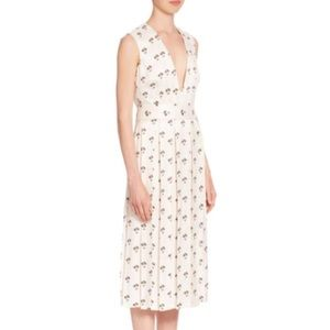 Victoria Beckham '17 Daisy Pleated midi dress