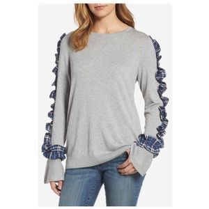 Halogen Ruffle Sweater