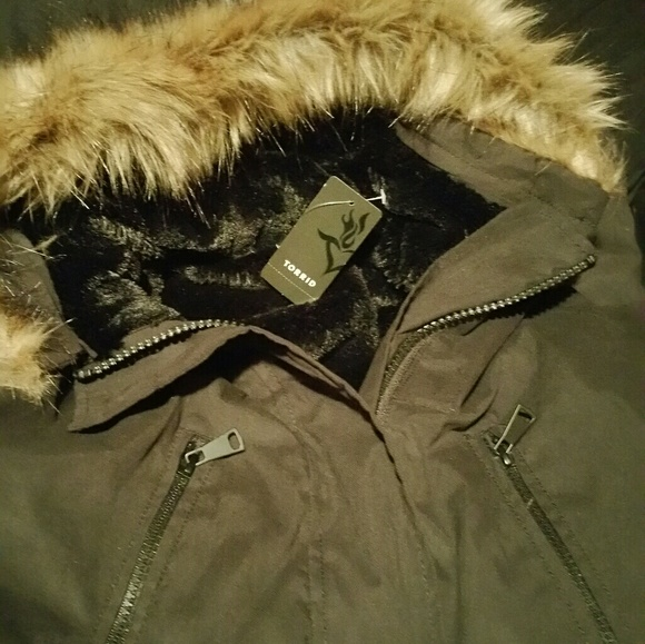 fd1efdf9208 Brand New Torrid Winter Coat!