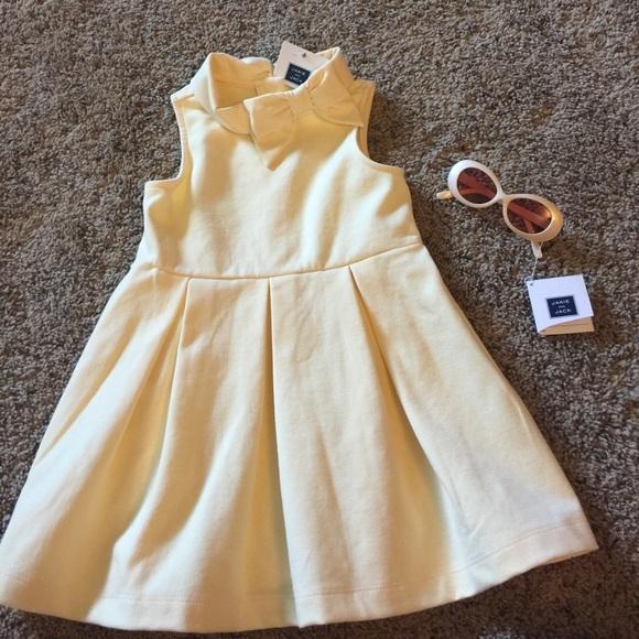 27cb09debc77 Janie & Jack yellow dress and matching sunglasses.  M_5a074e2dbcd4a70c900d65e8