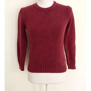 VGUC Vineyard Vines Deep Berry Pink Knit Sweater