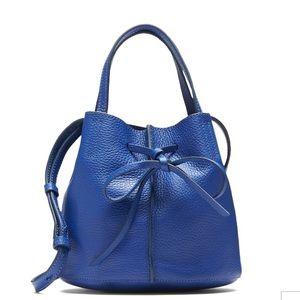 Banana Republic leather bow bucket bag NEW ❤️