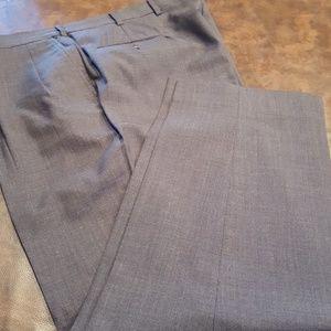 SALE 🔴MEN'S Charcoal Wool Dress Pants sz 40 x 32