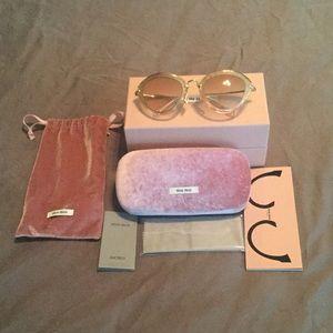 Authentic Mia Miu sunglasses