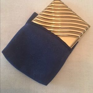 Estee Lauder pressed powder metal compact