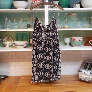 Anthroe Black+Tan strappy dress, Staring at Stars