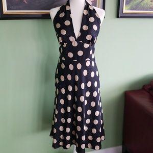 Laundry Shelli Segal Polka Dot Dress