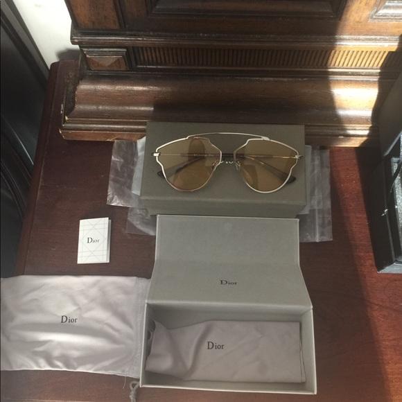 f7ef4e3477 Christian Dior So Real Yellow POP Sunglasses