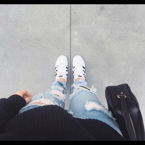 One teaspoon jeans in size 23.