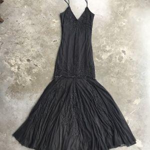 Black sequin Azealia Dress by Candela