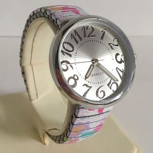 Floral White Expansion Watch