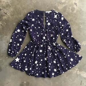 Lovers + Friends Dresses - Lovers and friends Lana dress with star print