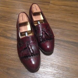 Salvatore Ferragamo Loafers 12 D in Burgundy