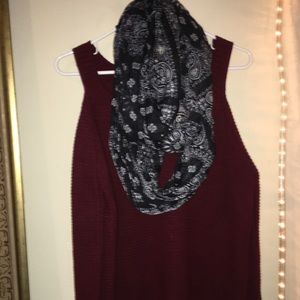 Accessories - Bandanna infinity scarf