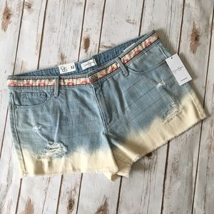 - Jessica Simpson - Distressed Cut off shorts