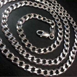 Jewelry - New Antitarnish   Sterling Silver  Chain Necklace