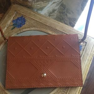 Handbags - Cognac Colored Crossbody