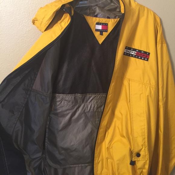 cb624327 90s Tommy Hilfiger Outdoor Anorak Rain Jacket XL. M_5a0761316802786b450da829