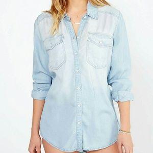 BDG drapey button-down shirt
