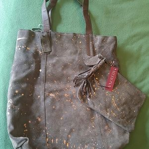 Merona tote with accessory bag.
