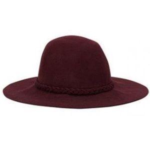 Nwt 100% wool floppy hat