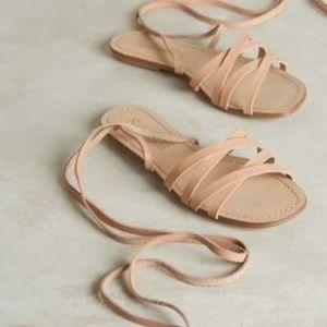 $5 Splendid Taylor Lace Up Leather Sandals