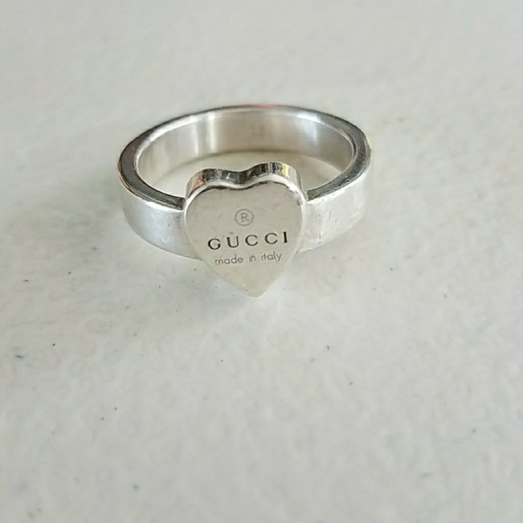 496368b72 Gucci Jewelry | Heart Ring | Poshmark
