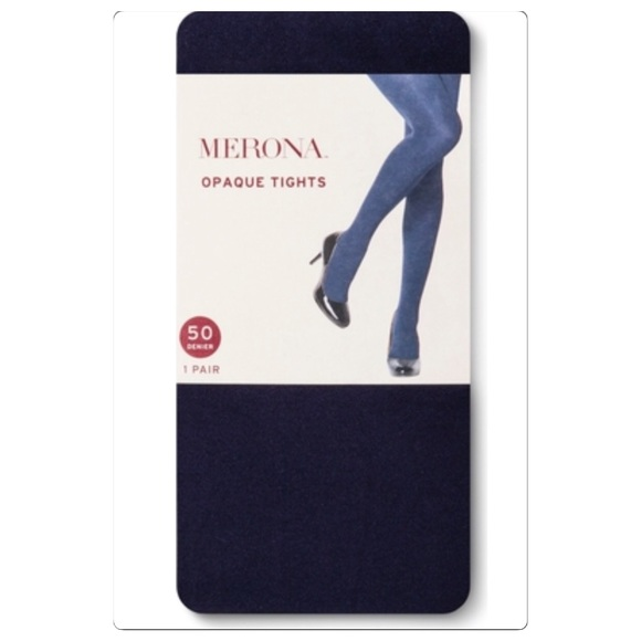 best online online for sale 50% price Nwt navy blue plus size tights by Merona Boutique
