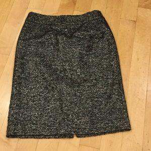 NWOT JCrew tweed sparkly skirt