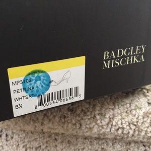 Badgley Mischka Shoes - Badgley Mischka Petrina Peep Toe Brooch Pump