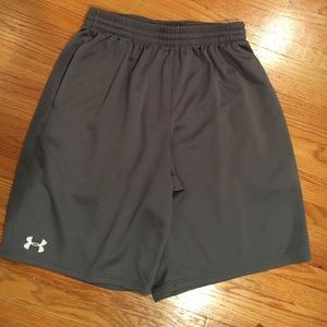 Under Armour mesh gym shorts