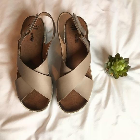 c6ebec22a5e Clarks Shoes - CLARKS Stasha Hale Wedge