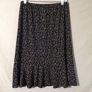 Motherhood Maternity Elastic Waist Skirt