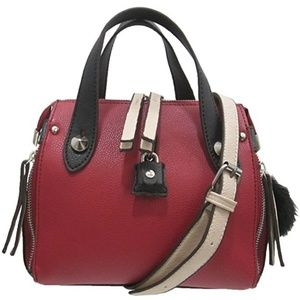 New Chinese Laundry satchel color block bag