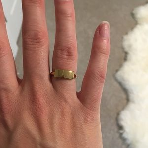 Set of two rings from J.Crew