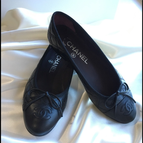 Chanel Classic Quilted Womens Ballerina