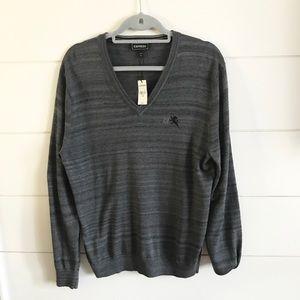 Express NWT Grey Men's Sweater